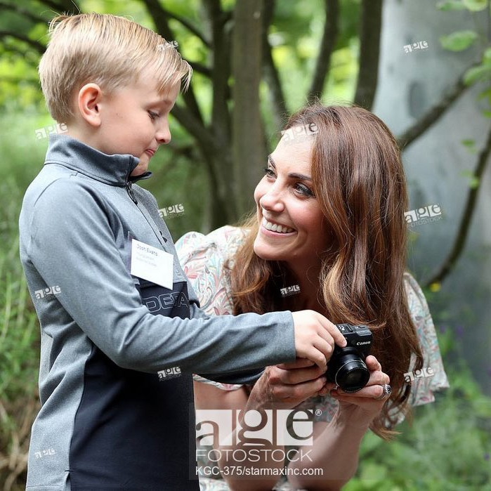 The Duchess of Cambridge joins Photography Workshop with Action For Children and the Royal Photographic Society.