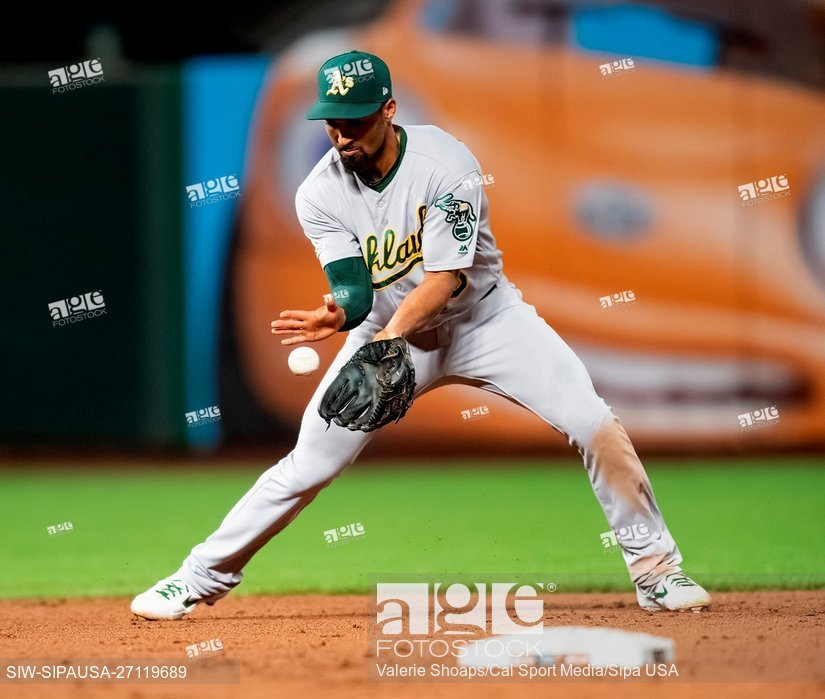 Oakland Athletics shortstop Marcus Semien