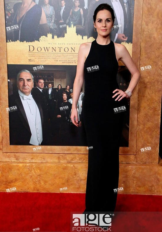 Michelle Dockery at the Downton Abbey New York Premiere