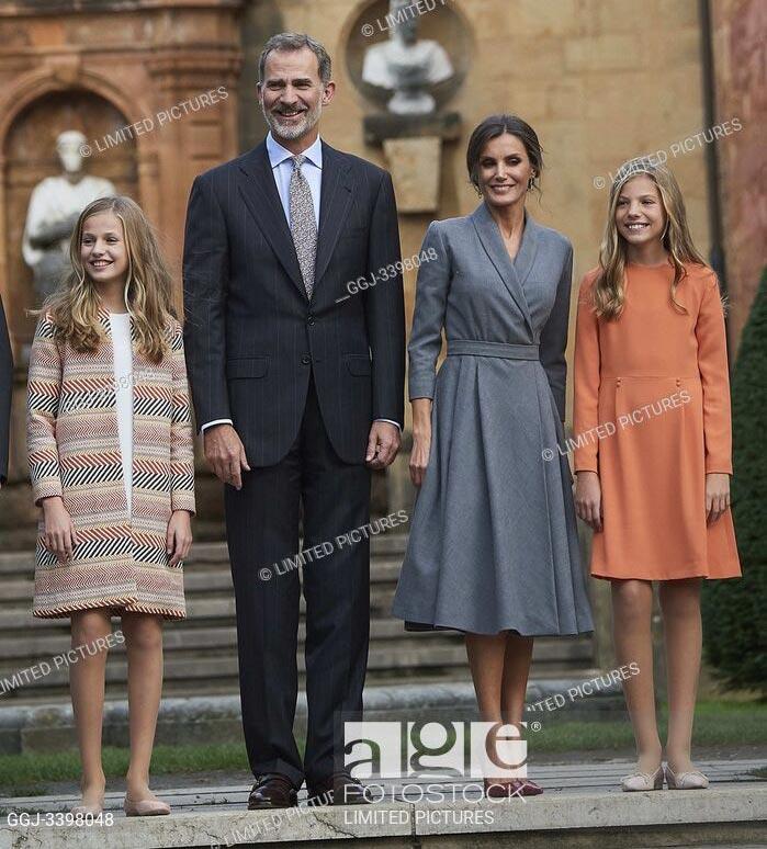 El rey Felipe VI, la reina Letizia, la princesa Leonor y la infanta Sofía, Premios Princesa de Asturias en Oviedo