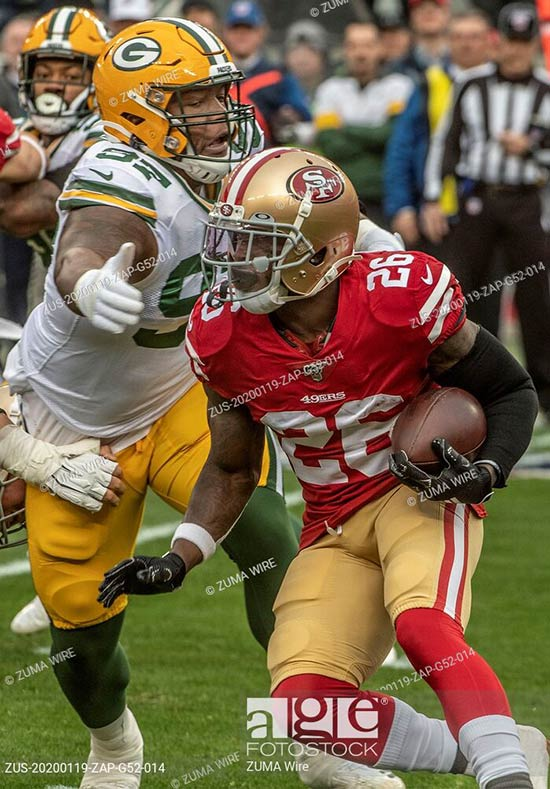 NFL Playoffs 2020: San Francisco 49ers vs Green Bay Packers