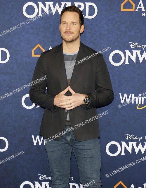Chris Pratt at the World premiere of Disney And Pixar Onward