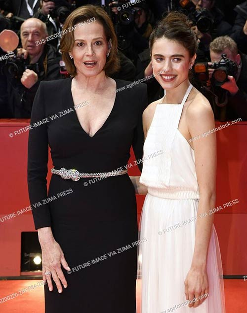 Sigourney Weaver, Margaret Qualley - My Salinger Year premiere at the 70th Berlin International Film Festival - Berlinale