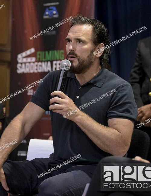 Matt Dillon at the press conference for the Italy Sardegna Film Festival 3rd edition at AD Forte Village, in Cagliari, Italy