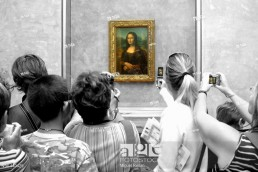 ´Mona Lisa´ (aka ´La Gioconda´) in the Louvre Museum, Paris. France