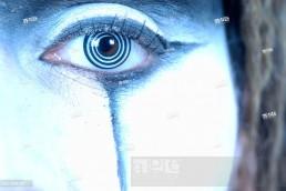 Creative stock image - detail of an eye