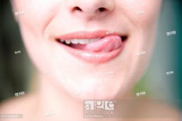 Stock image of a woman- Close up