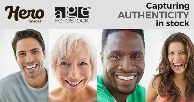 Hero images at age fotostock - Capturing authenticity in stock