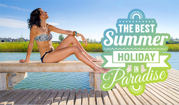 THE BEST SUMMER HOLIDAY IN PARADISE - age fotostock