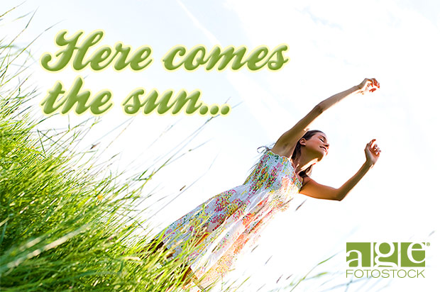 Here comes the sun | agefotostock