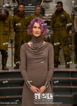 Laura Dern is Vice Admiral Holdo in