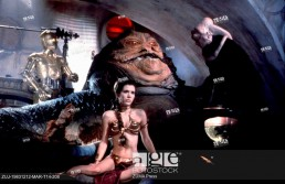 Of Jedis and Lightsabers - Scene from the 1993 movie 'Star Wars: Return of the Jedi'