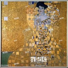 Gustav Klimt (1862-1918), Portrait Of Adele Bloch-Bauer. 1907
