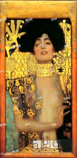 Judith. Klimt, Gustav (1862-1918). Oil on canvas. Art Nouveau. 1901