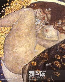 Danaë is an oil painting by Gustav Klimt, created in 1907