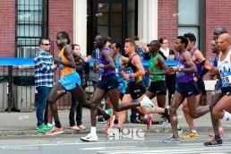 TCS New York City Marathon Featuring: Stanley Biwott, Geoffrey Kamworor, Lelisa Desisa, Wilson Kipsang, Yuki Kawauchi, Meb Keflezighi Where: Queens, New York , United States