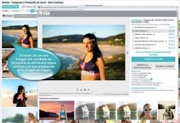 Al hacer clic en una imagen del resultado de búsqueda se abrirá una nueva ventana con una ampliación de la imagen de mayor tamaño.