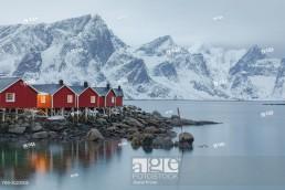 Reine, Lofoten, Norway, Europe.