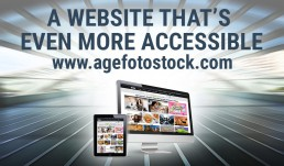 A website that's even more accessible. A breath of fresh air at agefotostock.com