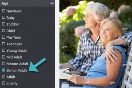 Age Search Filter