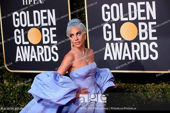 Lady Gaga attends the 76th Annual Golden Globe Awards